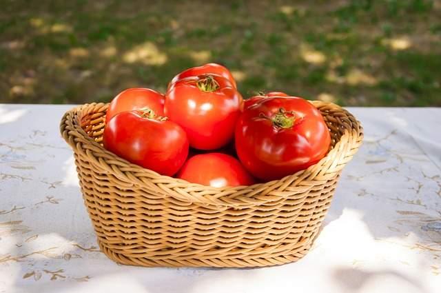 cestini di pomodori